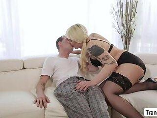 Hot Ladyboy Isabella Sorrenti gets fuck in doggystyle