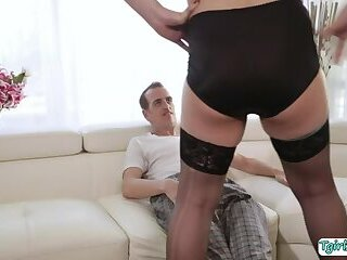 Tranny Nurse Isabella Sorrenti gets her tight asshole banged by her patients