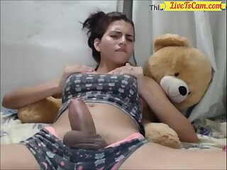 Most Cute Tranny Ever on Webcam