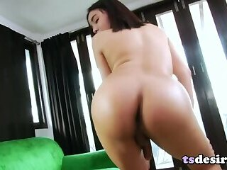 Asian Trans Beauty Emmy B Enjoys Masturbating