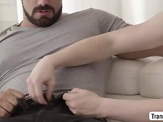 TBabe Natalie Mars lovely anal with dude plus cumshot