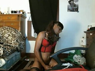 Tgirl Loves anal play