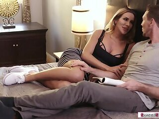 TS stepmom licked and analed by stepson