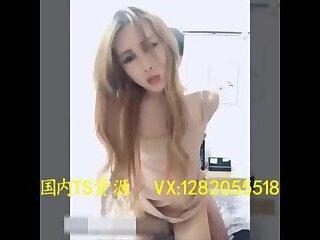妖被后入Sexy and beautiful transvestite 金娜娜 insert from behind the anus by men
