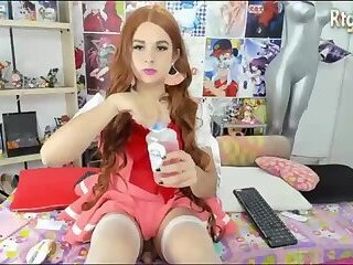 cute shemale doll webcam show