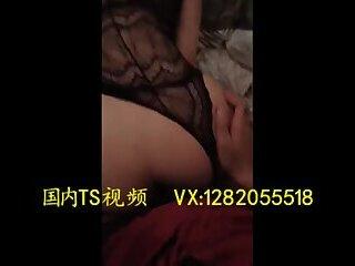 人妖干人妖 Two sexy beautiful transvestite 金韩雅 have sex with each other