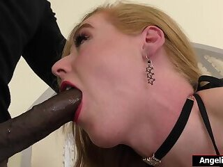 Trans Shiri Allwood sucks and anal reamed by huge black cock