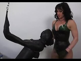 Jessy encased In leather by Mistress Part 1